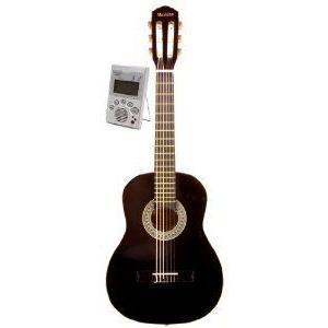 Music Basics Classical レフトハンドモデル レフティ 左利き Guitar with Free Tuner - 1/4 Size (GC-11|worldmusic