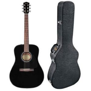Fender フェンダー CD-60 Dreadnought Acoustic Guitar - Black アコースティックギター アコギ ギター|worldmusic
