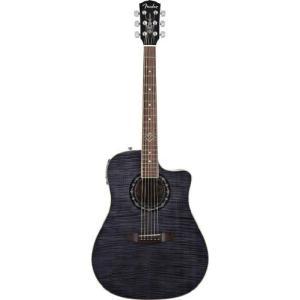 Fender フェンダー T-Bucket 300CE Cutaway Acoustic-Electric Guitar, Flamed Maple Top, Mahogany Ba|worldmusic