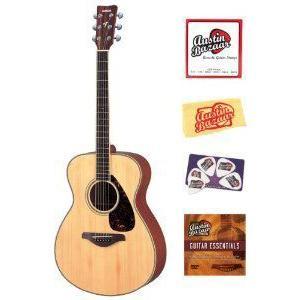 Yamaha (ヤマハ) FS720S Small Body Folk アコースティックギター Bundle with Instructional DVD, Stri|worldmusic