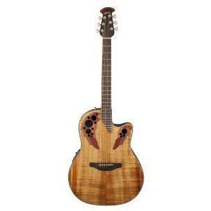 Ovation (オベーション) CE44P-FKOA エレアコ, Figured Koa アコースティックギター アコギ ギター|worldmusic