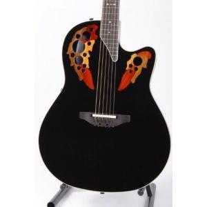 Ovation オベーション Standard Elite 2778AX Acoustic-electric Guitar, Black アコースティックギター|worldmusic
