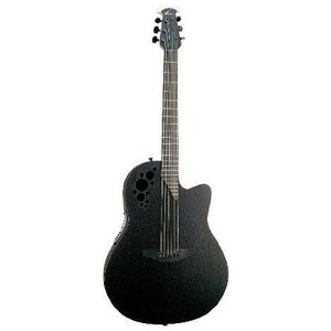 Ovation (オベーション) Elite T 2078TX Acoustic-electric Guitar, Black アコースティックギター アコ|worldmusic