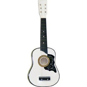 White Acoustic Toy Guitar for Kids with Carrying Bag and Accessories & DirectlyCheap(TM) Transluce worldmusic