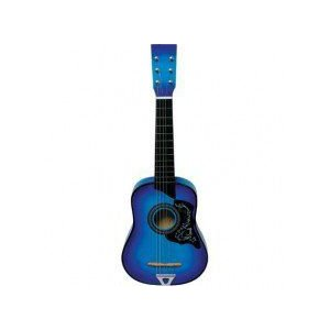Blue Acoustic Toy Guitar for Kids with Carrying Bag and Accessories & DirectlyCheap(TM) Translucen worldmusic