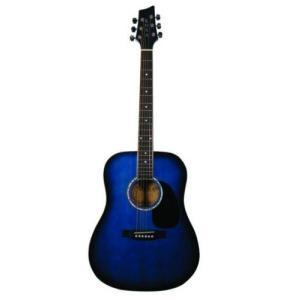 Kona K41BL Dreadnought Acoustic Guitar - Blue burst エレクトリックアコースティックギター エレアコ worldmusic