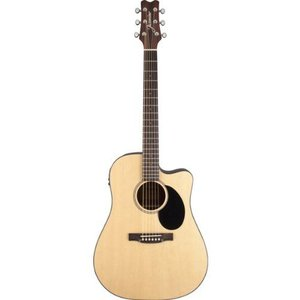 Jasmine JD36CE Dreadnought エレアコ Bundle with Instructional DVD, Strings, Pick Card, and Poli|worldmusic|03