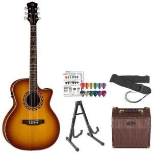 Luna Guitars JB-AMZ100-AMP-PROMO Acoustic-Electric Guitar, Americana Zia エレクトリックアコーステ|worldmusic|01