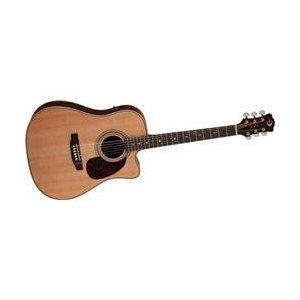 Luna Guitars Americana Classic Cutaway エレアコ Solid Spruce with Gloss finish (Solid Spruce with worldmusic