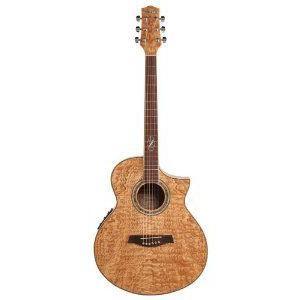 Ibanez (アイバニーズ) Exotic Woods Series EW20ASENT Figured Ash Acoustic Electric Cutaway Guitar worldmusic