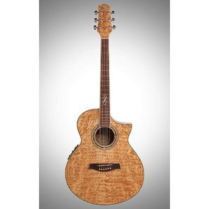 Ibanez (アイバニーズ) Exotic Woods Series EW20ASENT Figured Ash Acoustic Electric Cutaway Guitar|worldmusic|03