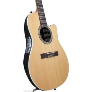 Ovation (オベーション) Celebrity CC059 Acoustic-electric Guitar, Natural Cedar エレクトリックアコ|worldmusic|02