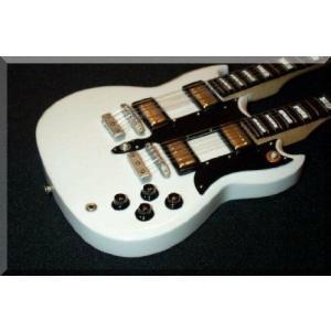ALEX LIFESON ミニチュア Mini Guitar doubleneck Rush エレキギター エレクトリックギター ギター|worldmusic