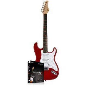 DEAL EXPIRES 2/21/14, LIMITED STOCK - 2012 Fretlight FG-421 Red エレキギター w/Guitar Pro 6 Fretl|worldmusic