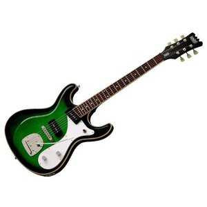 Eastwood イーストウッド Sidejack DLX Guitar - Greenburst|worldmusic