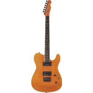 Fender (フェンダー) Special Edition Custom テレキャスターR FMT HH エレキギター, Amber, ローズウ|worldmusic