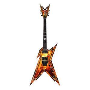 【商品名】Dean ディーン Dimebag Razorback Explosion Guitar,...