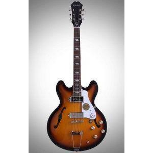 Epiphone (エピフォン) Inspired by John Lennon Casino エレキギター, Vintage Sunburst, 1965 エレキ|worldmusic