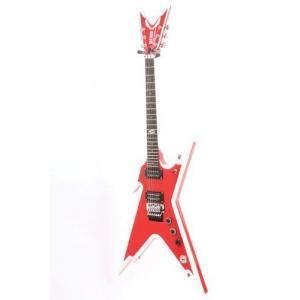 【商品名】Dean ディーン Razorback Electric Guitar, Red with...