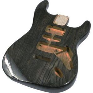 Mighty Mite MM2700ST ストラトキャスター 交換用 Body - See Through Finish Black ギター アコギ ベー worldmusic