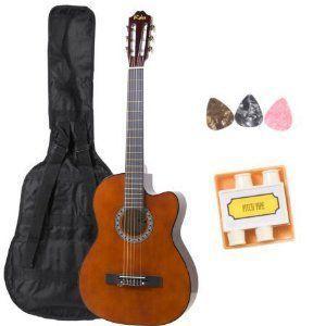 Kalos CGP2-39-C Full Size クラシックギター with Cutaway Body|worldmusic