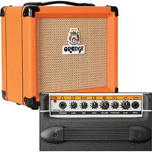 Orange(オレンジ) アンプs Crush PiX シリーズ CR12L 12W 1x6 ギターコンボアンプ ブラック|worldmusic