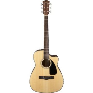 Fender(フェンダー) CF-60CE, Folk アコースティックギター, ナチュラル, w/Case|worldmusic