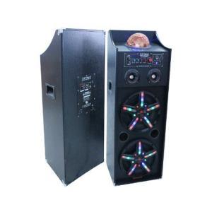 Patron Audio Pro PLS-2000MP3 デュアル10-Inch スピーカー システム w/SD/USB Reader|worldmusic