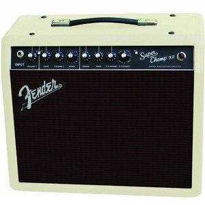 Fender(フェンダー) Super Champ X2 15W 1x10-Inch ギターコンボアンプ - Blonde Oxblood|worldmusic