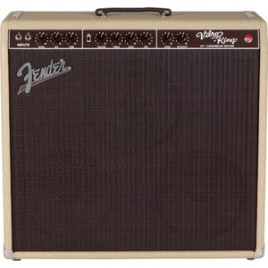 Fender(フェンダー) Vibro-King 20th Anniversary Edition 60W ギターコンボアンプ - Blonde|worldmusic