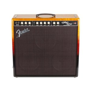 Fender(フェンダー) Limited Edition Tequila Sunrise Vibro-King 60W 3x12-Inch ギターコンボアンプ - B|worldmusic