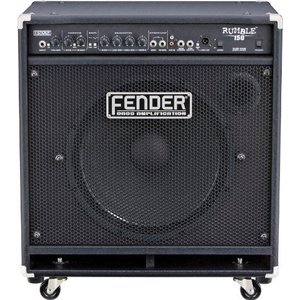 Fender(フェンダー) Rumble 150 150W 1x15-Inch バス コンボ Amp - ブラック worldmusic