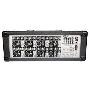 Pyle-Pro PMX801 200W 8チャンネル パワー PA ミキサー/アンプ worldmusic