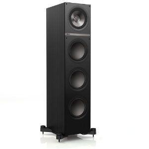 KEF Q700BL Floor Standing Speaker スピーカー (Single, Black Oak)|worldmusic