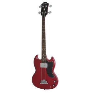 Epiphone エピフォン EB-0 Electric Bass Guitar, 1 Pickup, Cherry エレキトリックギター エレキギタ|worldmusic