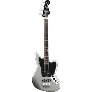 Squier by Fender (フェンダー) Vintage Modified Jaguar Special Short Scale Bass, Silver エレキギタ|worldmusic