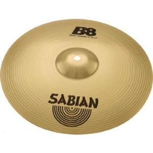 Sabian セイビアン B8 Series Thin クラッシュ シンバル 14 Inches|worldmusic