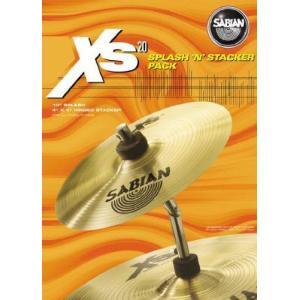Sabian セイビアン Xs20 スプラッシュ 'N' Stacker シンバル Pack|worldmusic