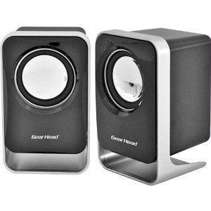 Gear Head USB Powered 2.0 Speaker スピーカー For Home/Office|worldmusic