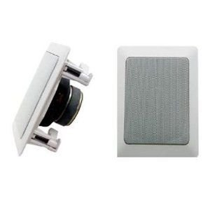 Absolute USA SS511 5-1/4-Inch 2-Way In-Wall Speaker スピーカー with 38mm Silk Tweeter|worldmusic