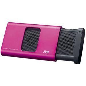 JVC America, Portable Speaker スピーカー Pink (Catalog Category: Speaker スピーカー / 1-Piece Por|worldmusic