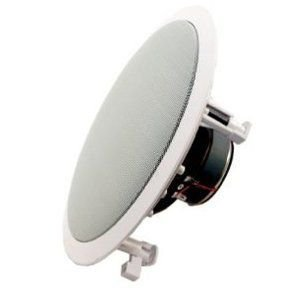 Absolute USA HCS602 6.5-Inch 8-Ohm 2 Way Rectangle Mount In-Ceiling Speaker スピーカー with 30mm S|worldmusic