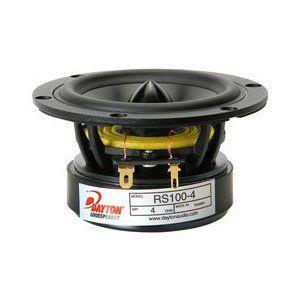 Dayton Audio RS100-4 4 Reference Full-Range Driver 4 Ohm|worldmusic