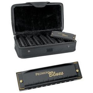 ホーナー/Hohner Piedmont Blues 7-Harmonica Pack with Case|worldmusic