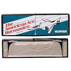 ホーナー/Hohner American Ace Harmonica Key of C|worldmusic