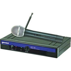 GEMINI VHFワイヤレス?ハンドヘルド?マイク|worldmusic
