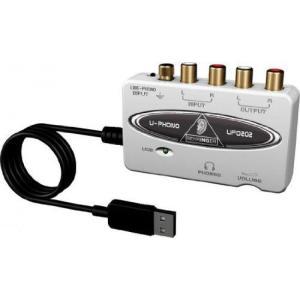 Behringer ベリンガー UPHONO UFO202 USB オーディオ インターフェース