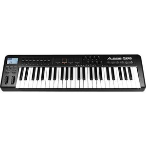 Alesis QX49 49-Key Advanced USB MIDI キーボードコントローラー with Trigger Pads and Faders|worldmusic