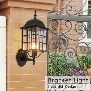 ブラケットライト モダン アンティーク 格子 玄関灯 門灯 庭園灯 屋外 壁面用 照明器具 LED玄関灯 08