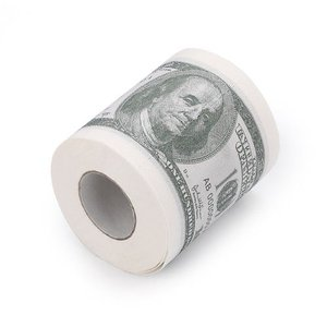 USドル 100ドル紙幣 トイレットペーパー 5巻セット|worldselect